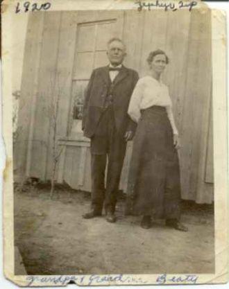 John Patrick and Mary Thomas Wilhelm Beaty