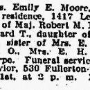 Emily Eleanor Thorpe obituary