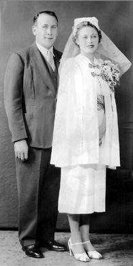 Leonard & Sylvia (Kudlick) Meyerson, New York 1937