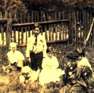 Webb children, Gordon, WV