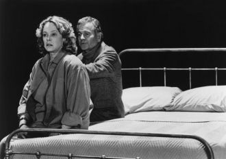 Sandy Dennis and Ian Holm