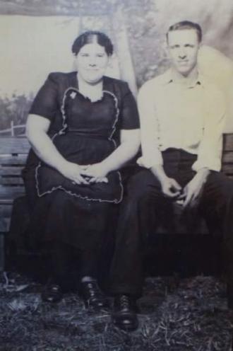 Elsie (Baker) and O.B. Stamper