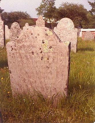Samuel Hutchinson gravestone