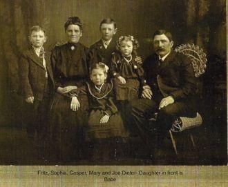 Joseph & Sophia Dieter Family, Nebraska