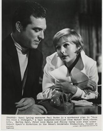 Paul Burke with Carol Lynley.