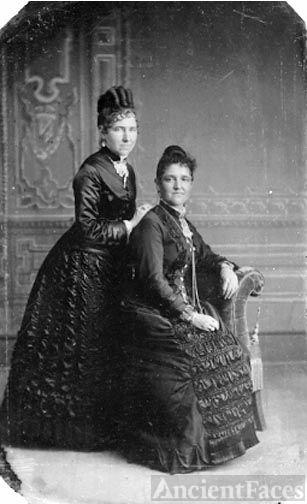 Emma Harris & sister