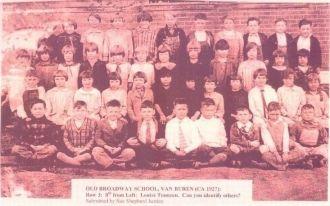 Old Broadway School, Van Buren, Arkansas