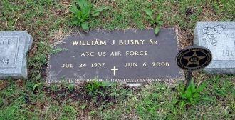 William Joseph Busby Sr gravesite