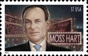 Moss Hart postage stamp