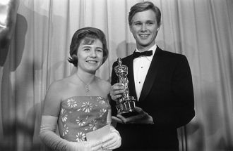 Brandon deWilde and Patty Duke