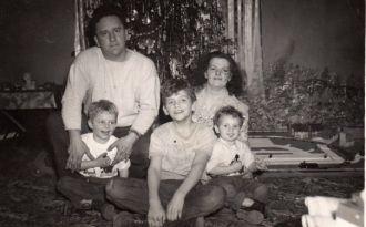 Scheib Family, 1950s