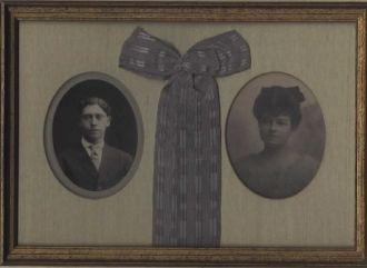 Jesse & Florence (Spring) Fink, Ohio 1909