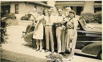 The Neals Visit Elsie Tyree