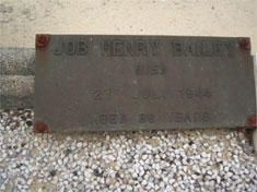 Job Henry Bailey