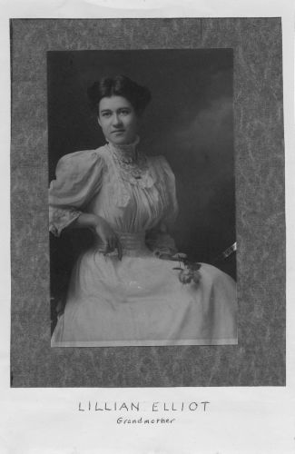Lillian Mae Elliot Armstrong, MA 1908
