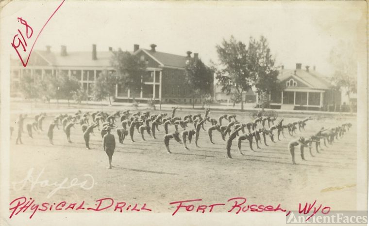 Fort Russell, WY Physical Drill
