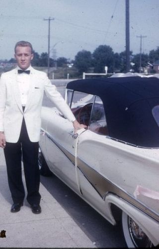 Jerry Tracey & his car