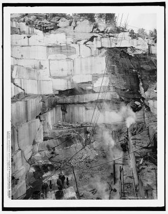 Republic Marble Quarry near Knoxville, Tenn.