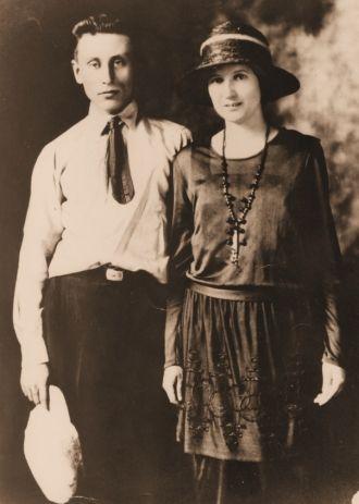 Velta Boyd and Alfred Porter, 1922