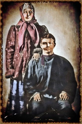 Frank & Magdalena  Pochron, Poland 1876