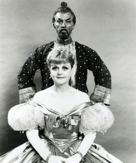 Michael Kermoyan in costume for the King and I on Broadway.