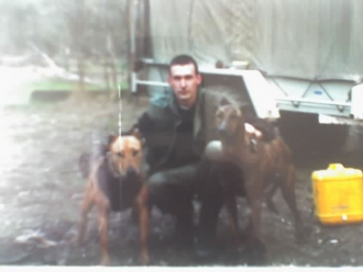 """Kenny Kalajdic """" and Hunting dogs """" Lady & Hooch """""""