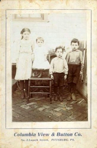 Bessie Decker Strong with Rausch Children