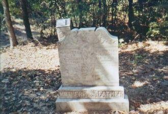 Grace C. & Wm. E. Welch Gravestone