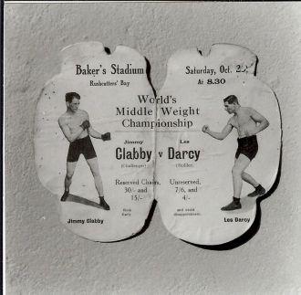 Jimmy Clabby vs Les Darcy