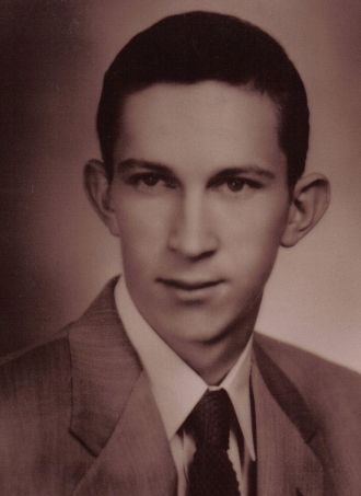 David Earl Bray Senior Class Photo 1955