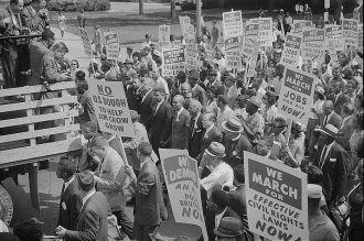 The March on Washington 1963