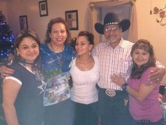 Nicolas Garza family