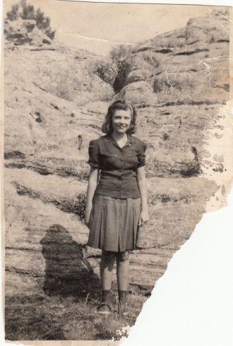 Aline Faye (Bramlett) Skinner Miller, 16 yrs