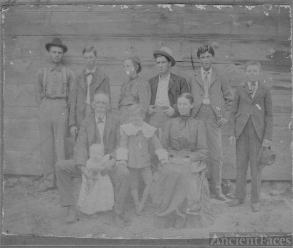 James Jasper Taylor Family