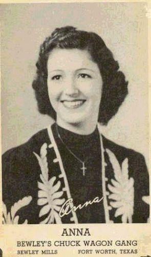 Anna Carter, Texas