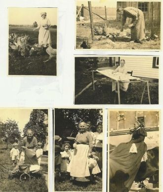 A Collage of Mrs. George W.(Priscilla Sheeks) Carr