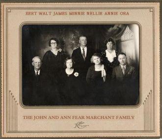 Ann (Fear) & John Marchant family