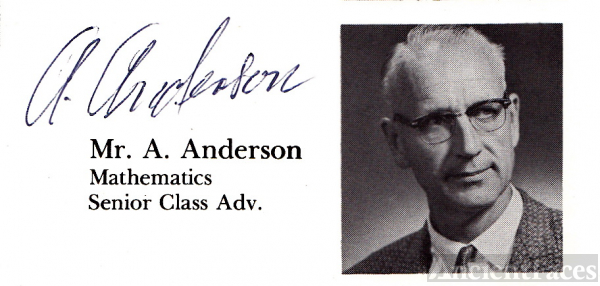 Mr. R. Anderson Evergreen High School