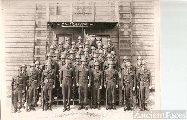 1st Platoon 513th Company F Basic Training