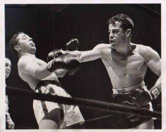 Rocky Graziano and Janiro