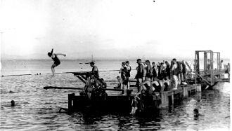 Lake fun, 1890s