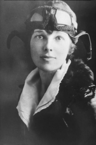 Amelia Earhart - Ready to fly