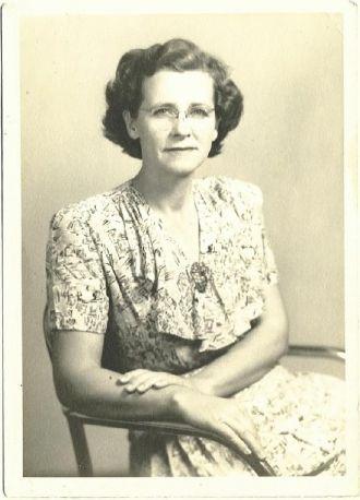 Rosetta Elizabeth Gowder Holcomb