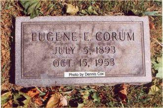 Eugene E. Corum Gravesite