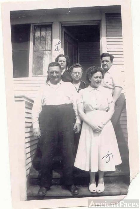 Herman Krueger and Family