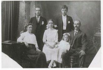 Thomas Paull family