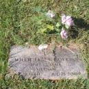 Willie Frank Boykins gravesite