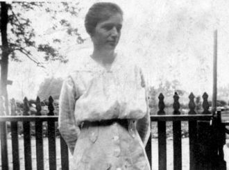 A photo of Ora Lillian (Dunn) Boyce