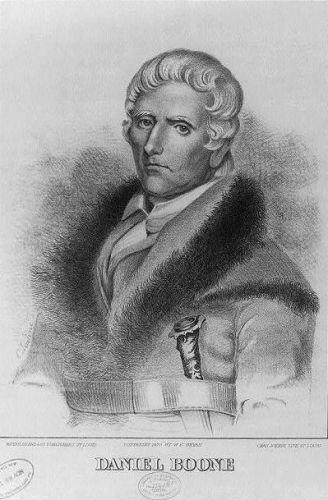 Daniel Boone Print 1876