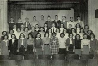 1947 National Honor Society Washington High School Massillon Ohio